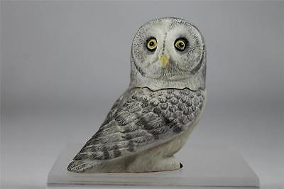 Harmony Kingdom / Ball Pot Bellys / Belly 'Great Gray' Owl #PBZOW14  New In Box