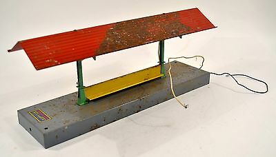 Vintage American Flyer Lighted Wayside Station No. 586F O-S Scale