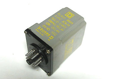 Square D Solid State Timing Relay On Delay Class 8501 Type JCK-11...  VI-175