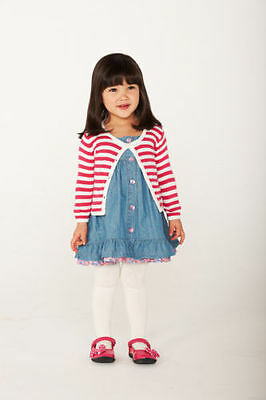 **bnwt** Pumpkin Patch Cardigan ~ Red & Cream Stripes ~ Newborn