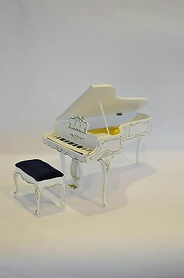 1:6 Scale Furniture for Fashion Dolls & 23035WG 2015 Grand Piano & Bench