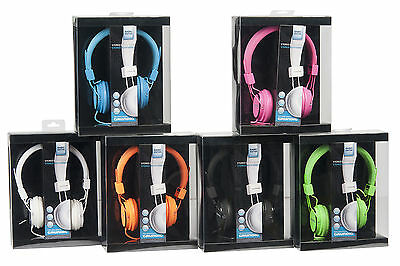 Stereo Kopfhörer Grundig Headset Neon MP3 CD Iphone TV Heim-Audio DJ Farbwahl