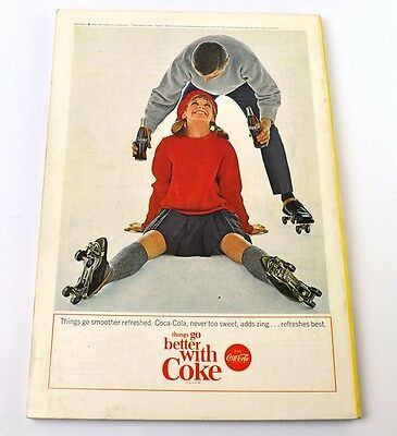 Coca-Cola Coke Anzeige USA komplettes Heft National Geographic Magazine 2/1964
