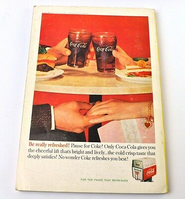 Coca-Cola Coke Anzeige USA komplettes Heft National Geographic Magazine 4/1960