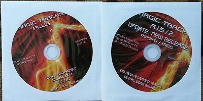 Magic Tracks Scdg Karaoke 2 Disc Set 1200+ Songs Mp3+G Super Cd+G, Cavs