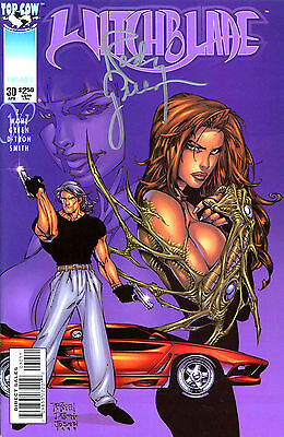 Witchblade #30 Signed By Artist Randy Green (Lg)