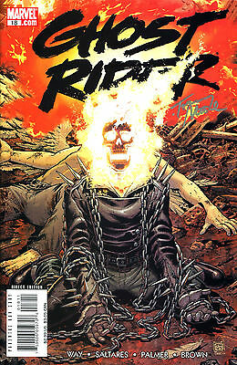 Ghost Rider #18 Signed By The Walking Dead Artist Tony Moore (Lg)