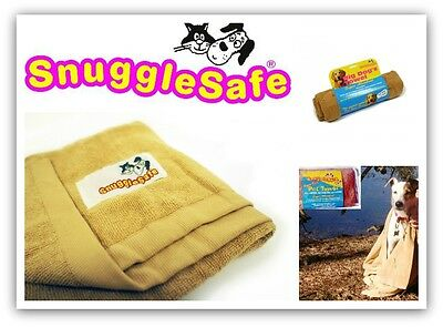 Snugglesafe Quick Dry Super Absorbant Dog Cat Towel - Choice Of Size
