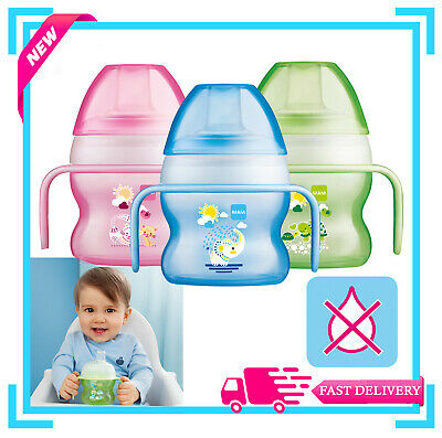 MAM Starter Cup 150ml 1pk Avaliable in Pink, Blue - New Design