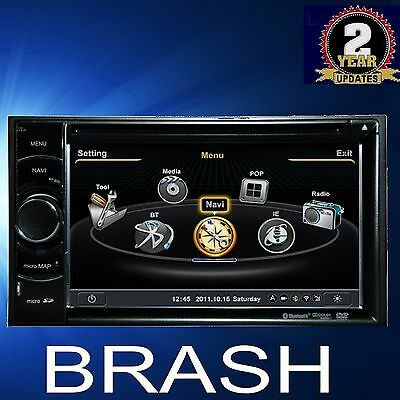 Holden Colorado 2008-11 In Dash Gps Dvd Navi Bluetooth  Stereo Am/fm Factory Fit