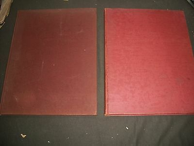 1954-1960 The Treasury Of Early American Homes Book Lot Of 2 Different - Kd 794N
