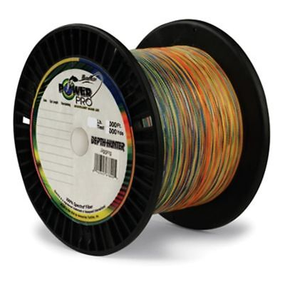 Power Pro Depth Hunter Colored Marked 80lb 4500' 1500yd Braid Line NEW 80-1500DH