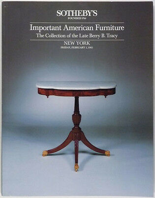 ANTIQUE AMERICAN COLONIAL & FEDERAL FURNITURE -The BERRY TRACY COLLECTION