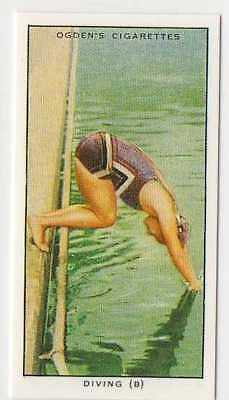 #35 diving (b) the beginners entry swimming r card