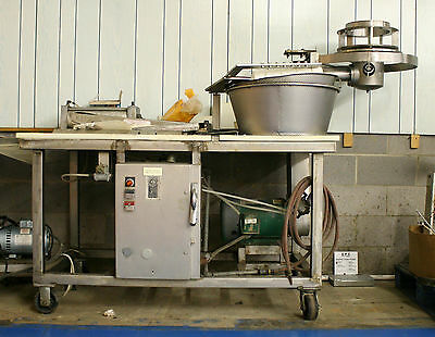 Automatic Commercial Food Processing Pneumatic Cheese Shredder