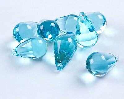 2 Swarovski Light Turquoise Color 20MM Cabochette  RhinestonePendents  #6026