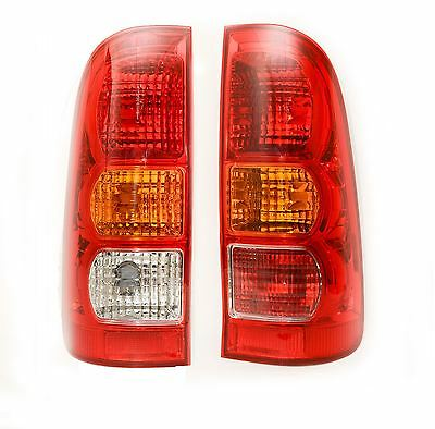 Toyota Hi-Lux 2005-2011 Rear Tail Lights 1 Pair O/s & N/s