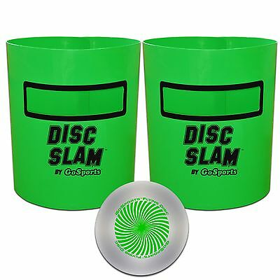 Disc Slam 2.0 by GoSports - Ultimate Flying Disc Game - Great Backyard Game