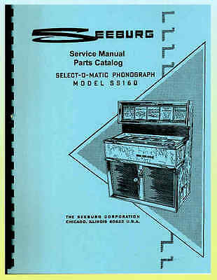 Seeburg Model SS160 Complete Service Manual