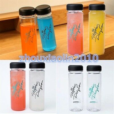 KPOP EXO The Celebrity ChanYeol's My Bottle Water Cup&Bag Chan Yeol signature