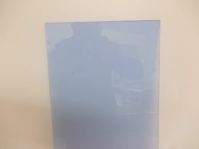 3 mm Neptune Blue A6-A5-A4-A3 Perspex Acrylic Fluorescent Sheet Plastic Material
