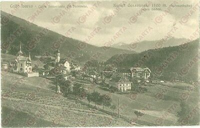 1923 BRENNERO (BZ) Panorama del paese di COLLE ISARCO *Cartolina FP VG