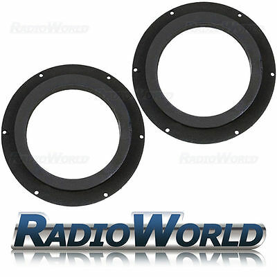 "VW Golf Touran Transporter 6.5"" MDF Front Speaker Adaptors / Rings / Spacers"