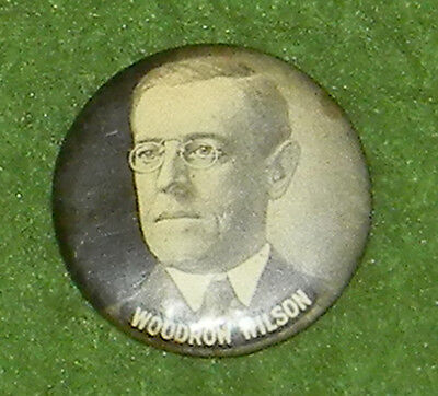 Woodrow Wilson BUTTON HOLE Whitehead & Hoag Campaign Button Collectors MUST L@@K