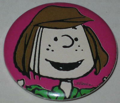 Peppermint Patty Pin 1.75""