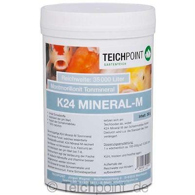 (€14,14/kg)350 g K24 Mineral - M, montmorillonit Tonmineral Koi Teich Filter