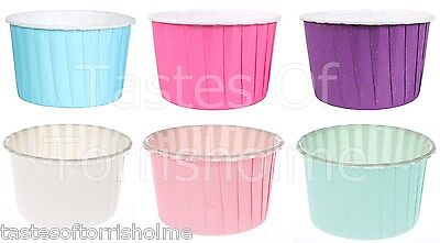 Culpitts Packs Of 24 Rigid Greaseproof Cup Cake Baking Cups Bun Cases