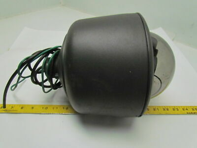Surveillance Dome Smoked Fixed Mount w/CCC1300H-2 High Resolution Color Camera