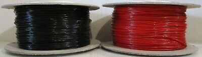 Model Railway/Railroad Layout/Point Motor Wire 2 x 100m Rolls Deal 7/0.2mm 1.4A