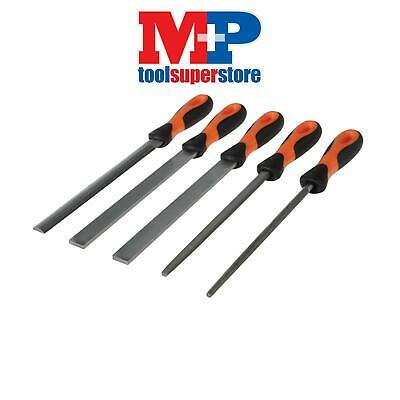 Bahco 47808 File Set 5 piece 1-478-08-1-2 200mm (8in)