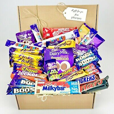 Luxury SHARING CHOCOLATE Hamper 25 gift  CADBURY Birthday - Easter Corporate