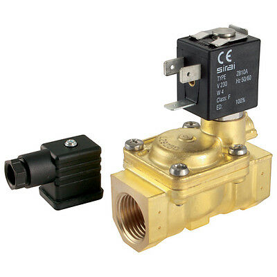 "Actuated Ball Valves - 3/4"" 2/2 No Solenoid Valve 230V 50Hz 7-00688"
