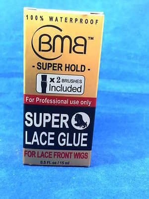 BMB SUPER LACE GLUE SUPER HOLD 0.5 fl oz. /15ml FOR LACE FRONT WIGS