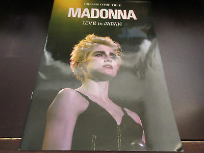 Madonna Dreams Come True Live in Japan Japan Promo only Book in 1987
