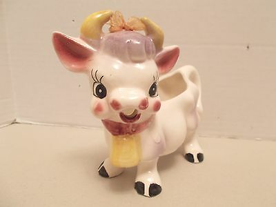 Vintage Collectible Cow Creamer - Made in Japan - Very Good Condition