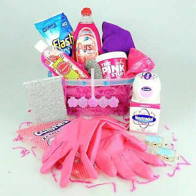 Mrs Hinch Hamper Cleaning Gift Hamper Pink Stuff Flash Jelly Bell Christmas Home