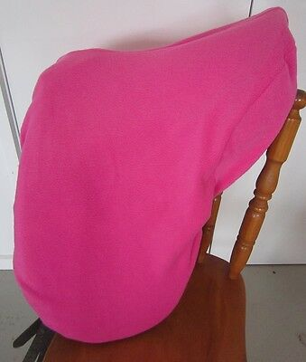 Horse Saddle cover Bridlebag & Free hatbag also EMBROIDERED FREE Candy pink