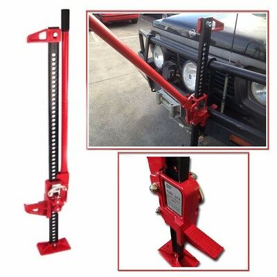 "Off Road Ratcheting Farm Jack Truck High 48"" Lift Bumper 3.5 Ton Tractor suv"