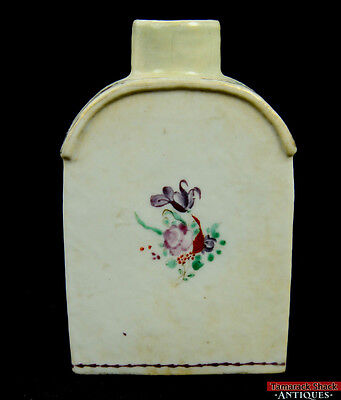 """Qianlong Period (1736-1795) Chinese Export China Tea Caddy 5"""" Purple Red Bottle"""