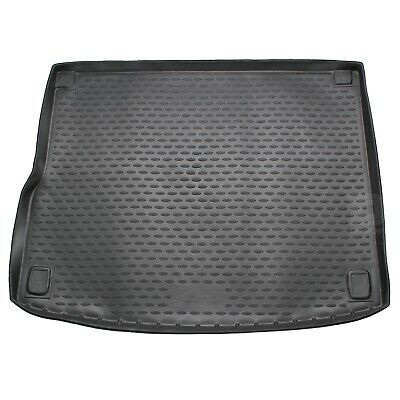 Volkswagen Touareg 10-17 Rubber Boot Liner Fitted Black Floor Mat Protector Tray