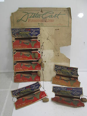 7 Vintage Dista-Cast for Bass or Bream Corked Line in Store Display