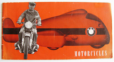 BMW RANGE - Motorcycle Brochures - 1960 - #M244e10.10.60 - inc: R27 R50 R60 +