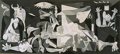 Pablo Picasso - Guernica Vintage Wall Art Poster Print Picture Giclee Artwork