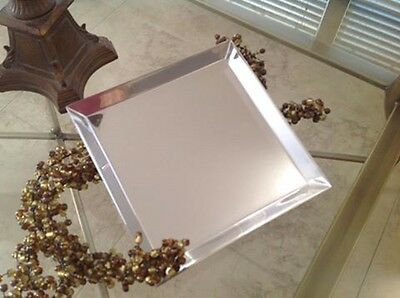 Philosophy Silvertone Reflection Vanity Tray (engraved) Sealed!