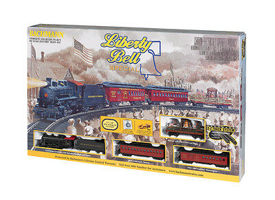 Bachmann HO Scale Train Set Analog Liberty Bell Special Passenger 00711