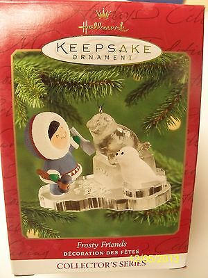 "Hallmark 2000 Ornament ""Frosty Friends""  #21 Ice Sculpture Seal"